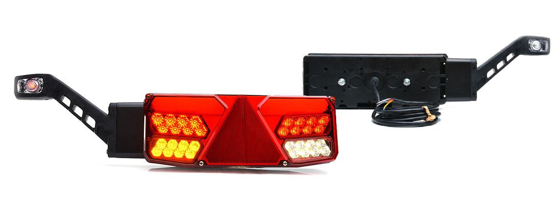 Lampy zespolone tylne - W137d