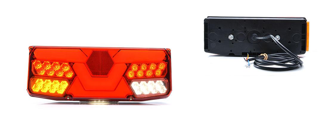 Lampy zespolone tylne - W138d