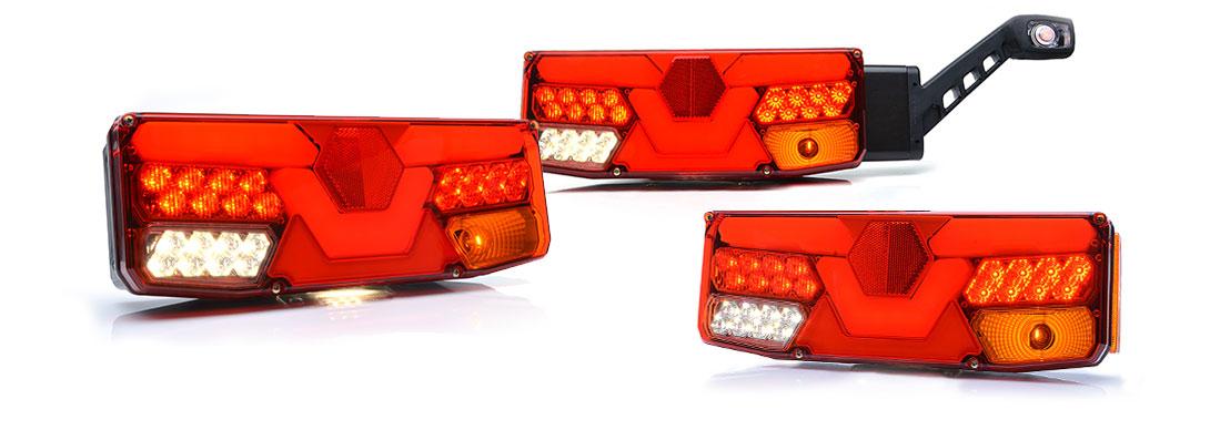Lampy zespolone tylne - W138dż