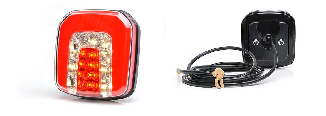 Lampy zespolone tylne - W146
