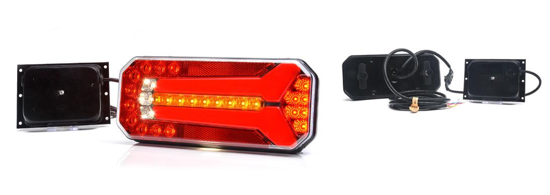 Lampy zespolone tylne - W150