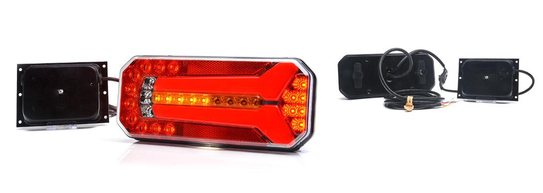 Lampy zespolone tylne - W150DD