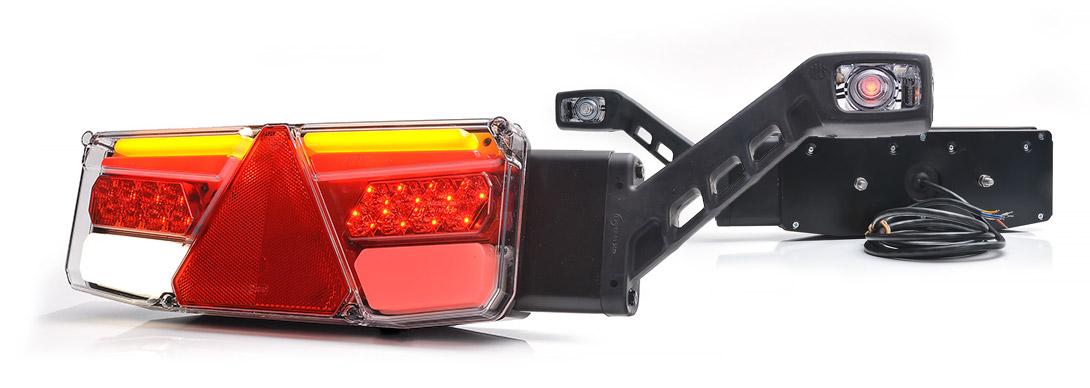Lampy zespolone tylne - W170