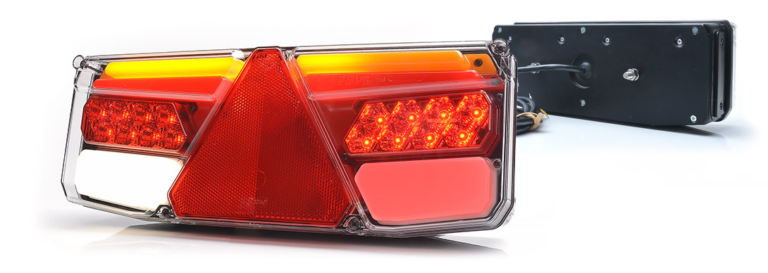 Lampy zespolone tylne - W170DD