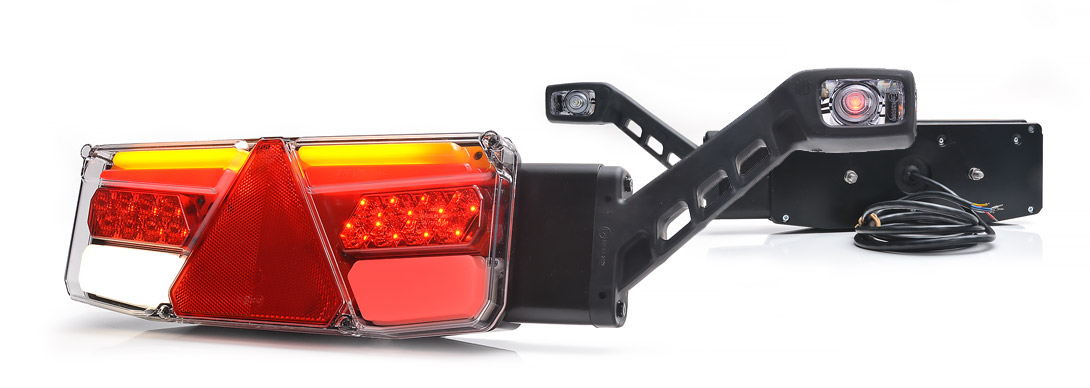 Lampy zespolone tylne - W170DD P