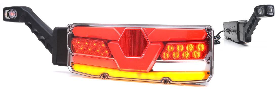 Lampy zespolone tylne - W171