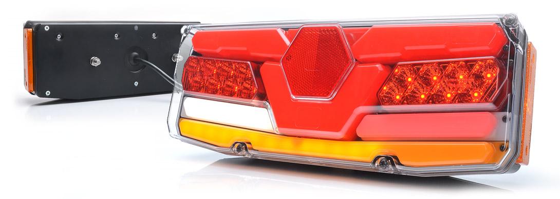 Lampy zespolone tylne - W171DD P