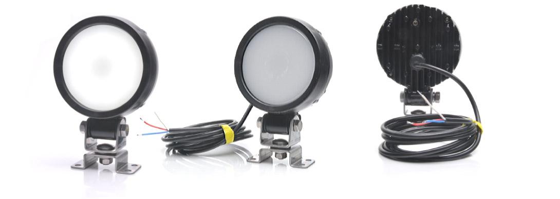 Przednie lampy drogowe, przeciwmgłowe i do jazdy dziennej - W176
