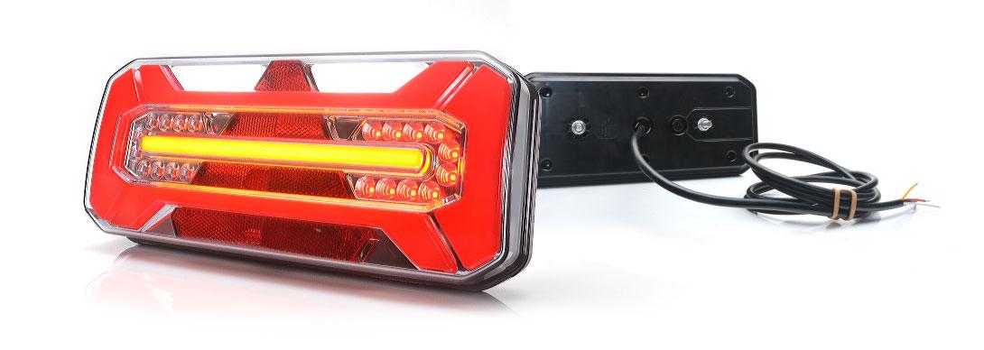 Lampy zespolone tylne - W184