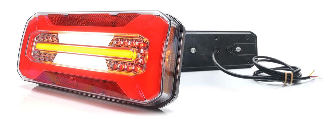 Lampy zespolone tylne - W185
