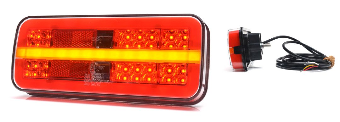Lampy zespolone tylne - W187