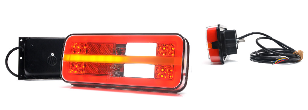 Lampy zespolone tylne - W187DD