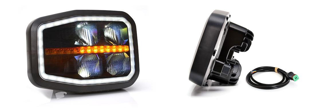Lampy zespolone przednie - W188, W188DD