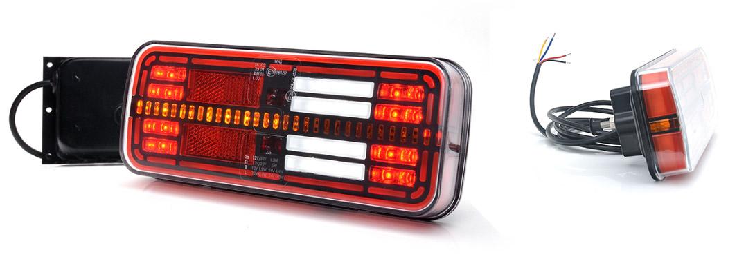 Lampy zespolone tylne - W194DD