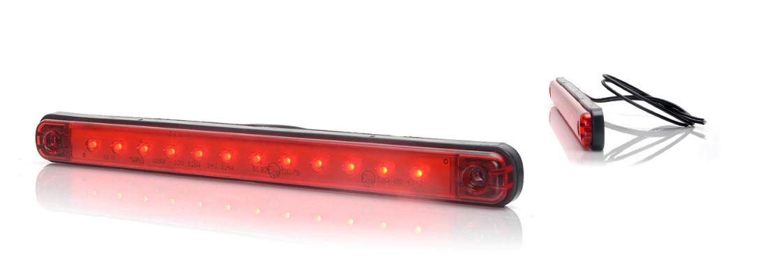 Lampy jednofunkcyjne przednie i tylne - W207