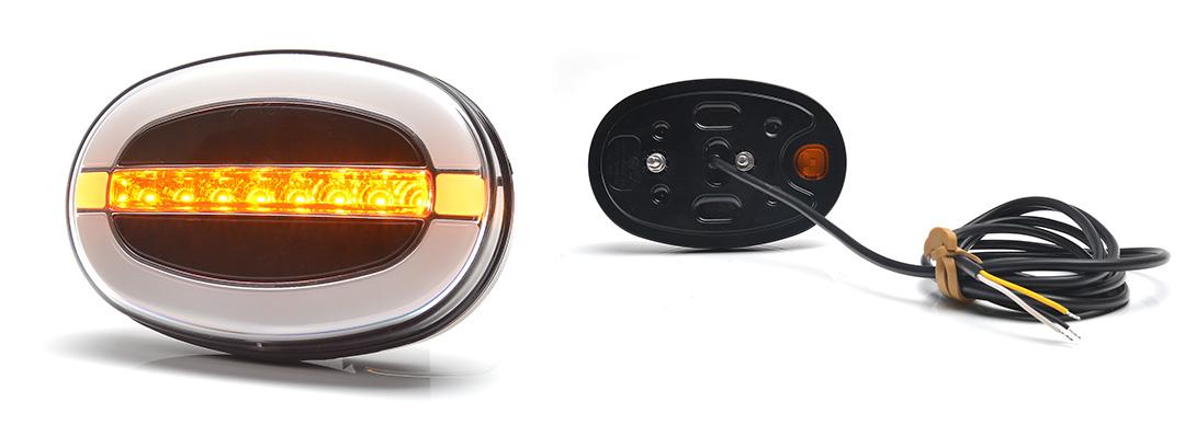 Lampy zespolone przednie - W204, W204DD