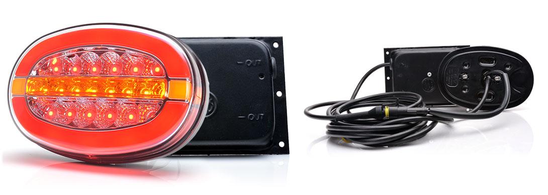 Lampy zespolone tylne - W205, W205DD