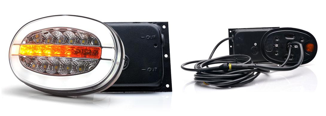 Lampy zespolone przednie - W206, W206DD