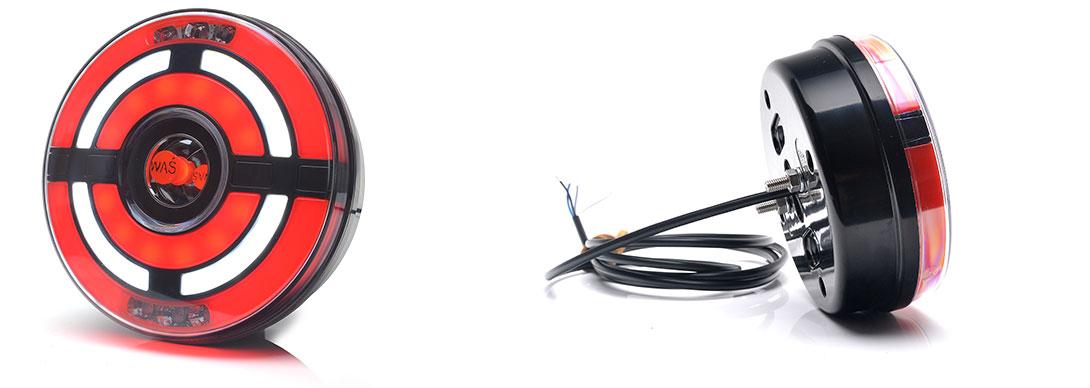 Lampy zespolone tylne - W209