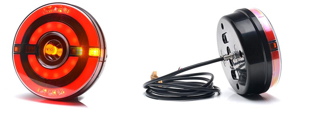 Lampy zespolone tylne - W208, W208DD