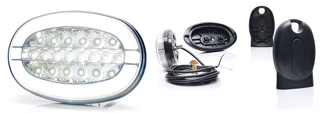 Lampy robocze - W211