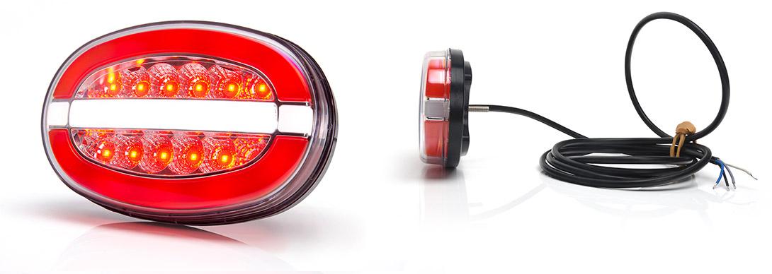 Lampy zespolone tylne - W214