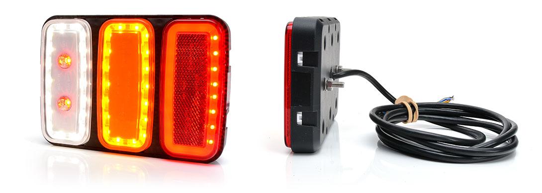 Lampy zespolone tylne - W227