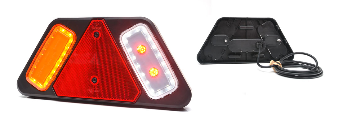 Lampy zespolone tylne - W228