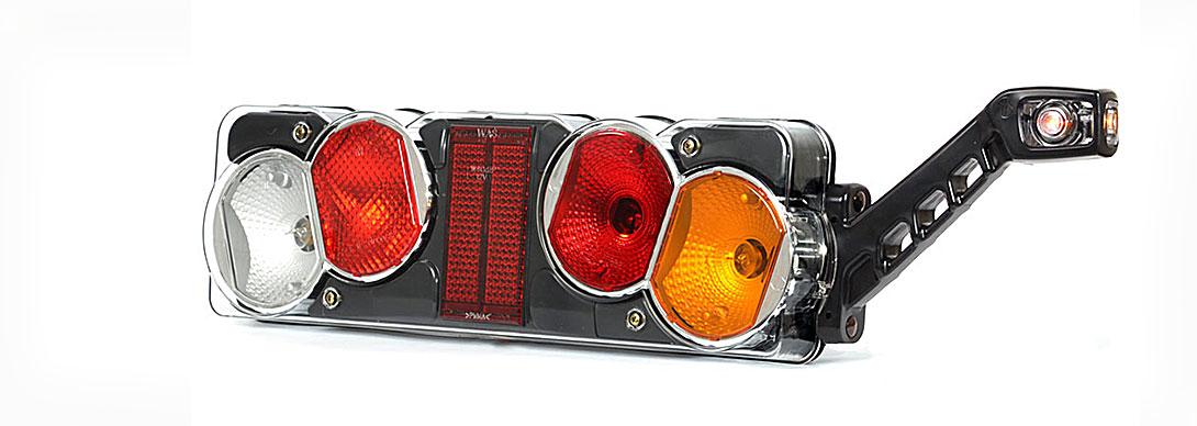 Lampy zespolone tylne - W40żL + W48 W40żP + W48