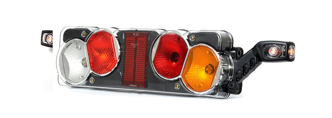 Lampy zespolone tylne - W40żL + W49 W40żP + W49