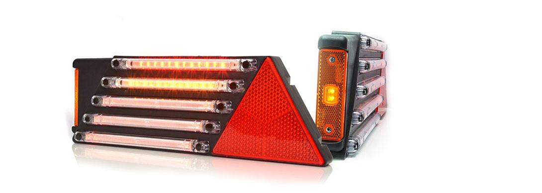 Lampy zespolone tylne - W69L +  W44