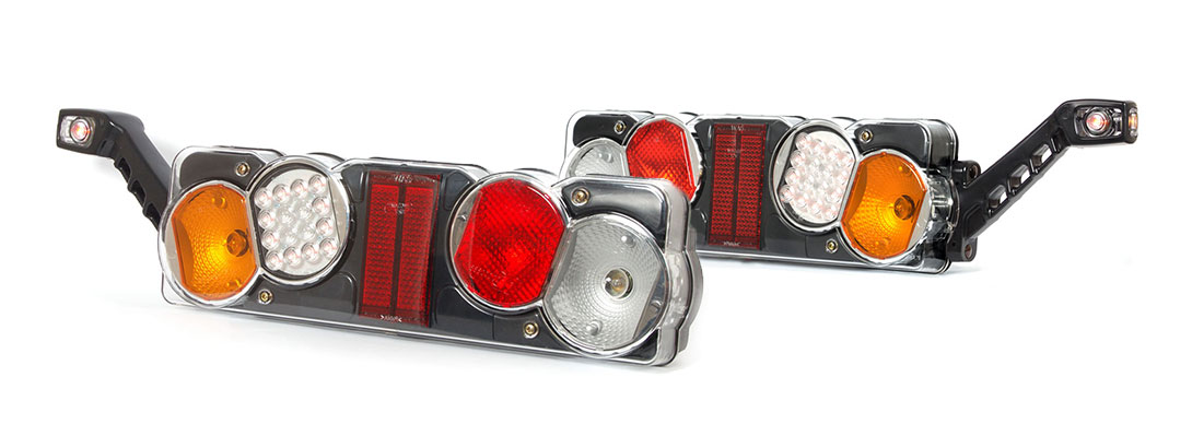Lampy zespolone tylne - W40dżL+W48 W40dżP+W48