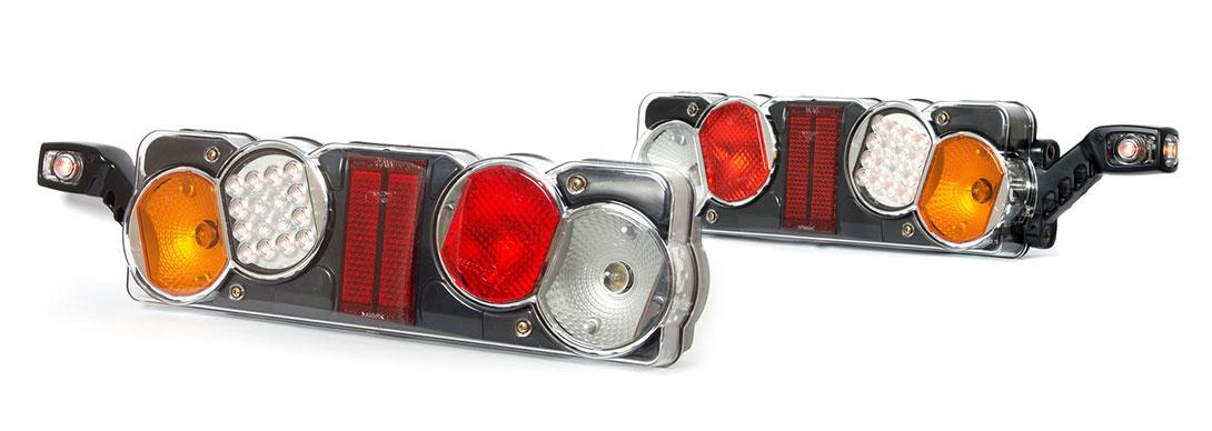 Lampy zespolone tylne - W40dżL+W49 W40dżP+W49