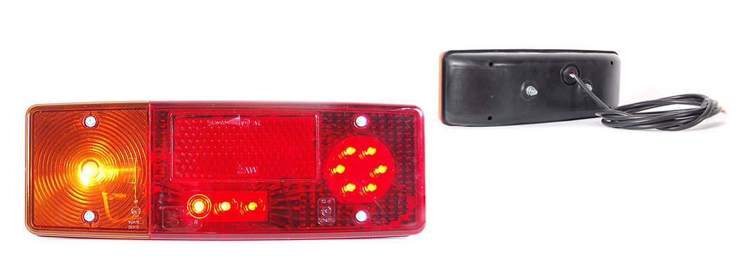 Lampy zespolone tylne - WE551dżL, WE551dżP