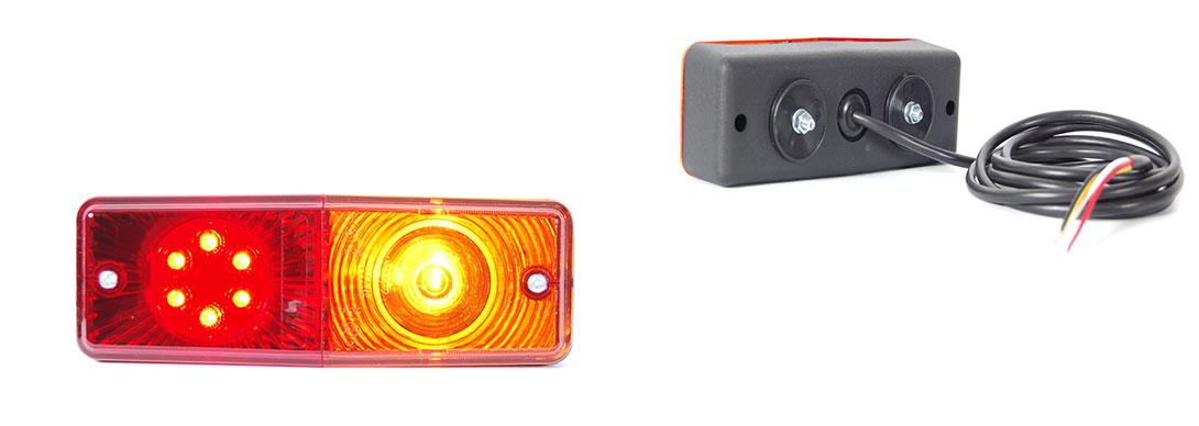 Lampy zespolone tylne - W072ud, W072udż