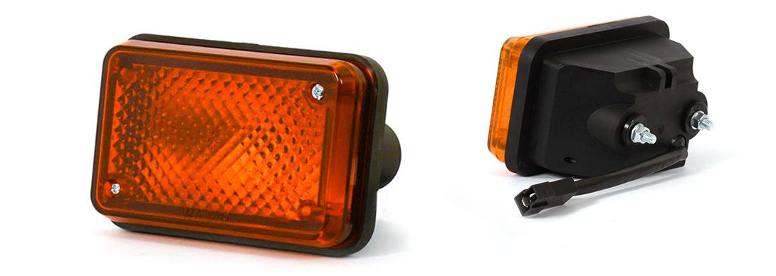 Lampy jednofunkcyjne przednie i tylne - W12