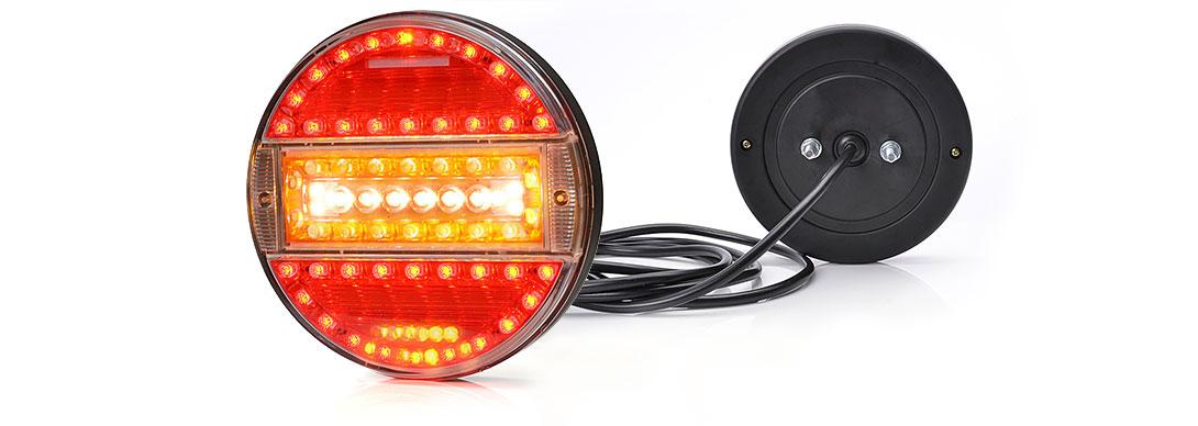 Lampy zespolone tylne - W92