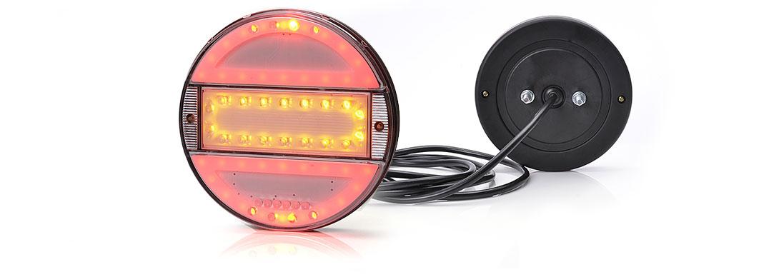 Lampy zespolone tylne - W93