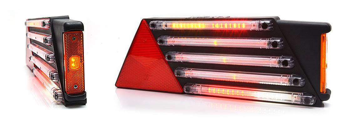 Lampy zespolone tylne - W69P + W44