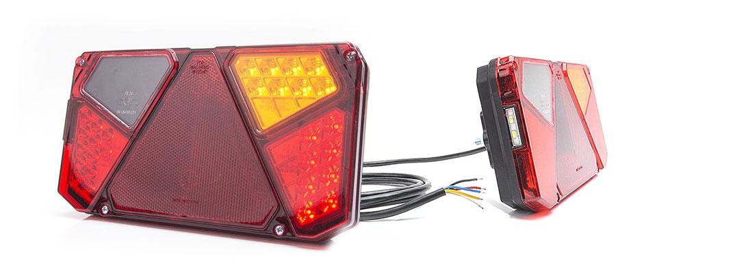 Lampy zespolone tylne - W125d