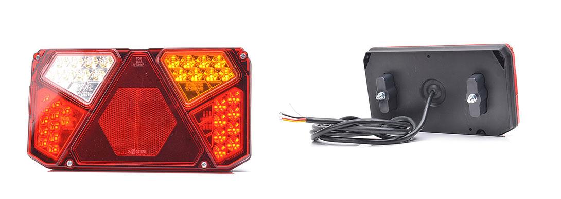 Lampy zespolone tylne - W124dP