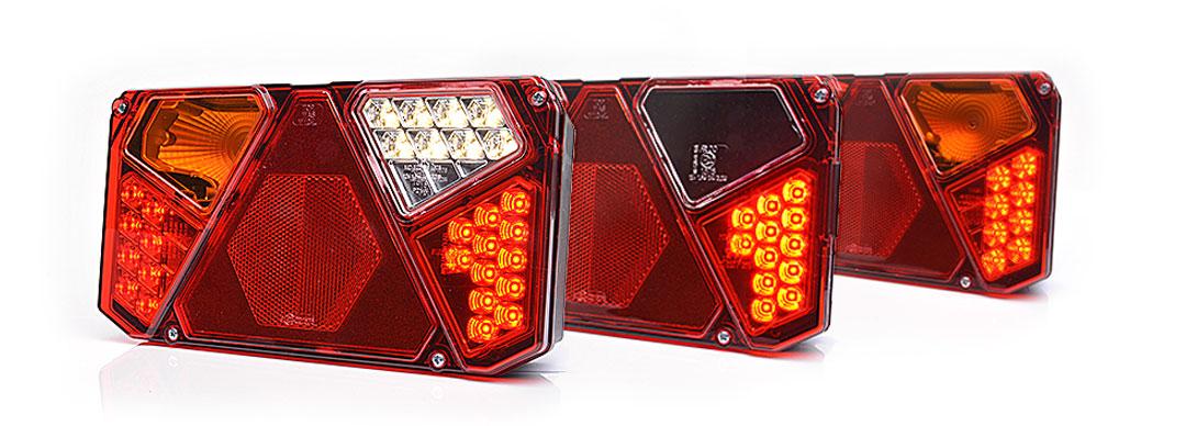 Lampy zespolone tylne - W124dżL, W124dżP