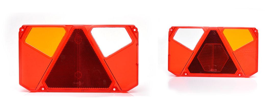 Lampy zespolone tylne - W124dżL, W124dżP, W125dżL, W125dżP