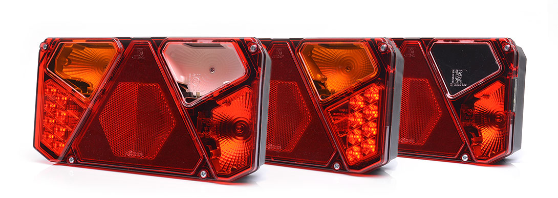 Lampy zespolone tylne - W124dż