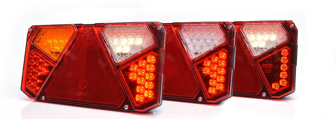 Lampy zespolone tylne - W125deL