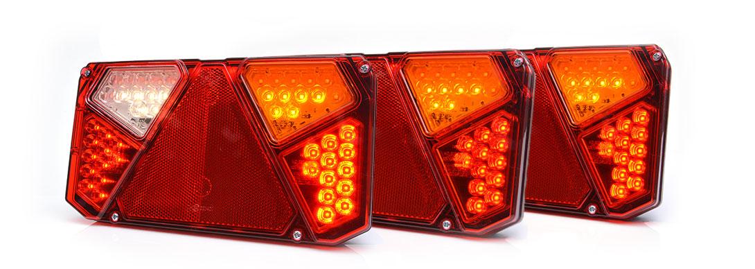 Lampy zespolone tylne - W125deP