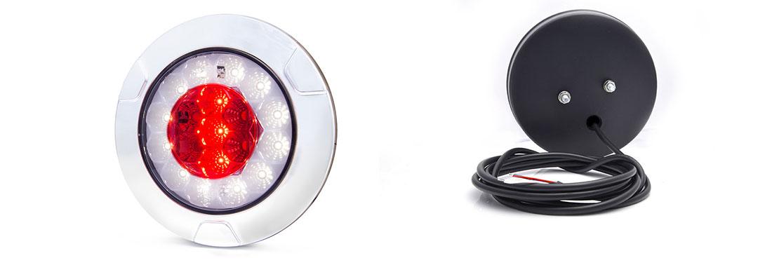 Lampy zespolone tylne - W147