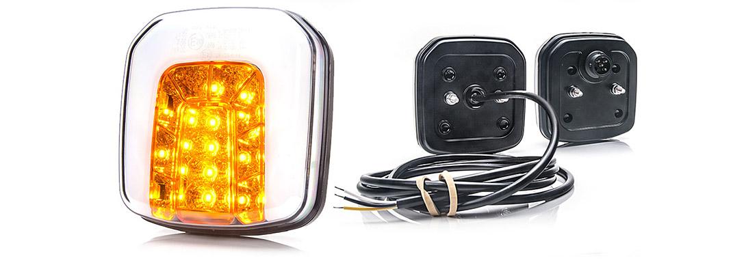Lampy zespolone przednie - W169
