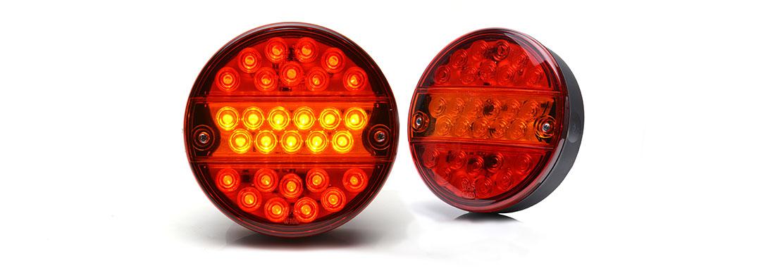 Lampy zespolone tylne - W19D