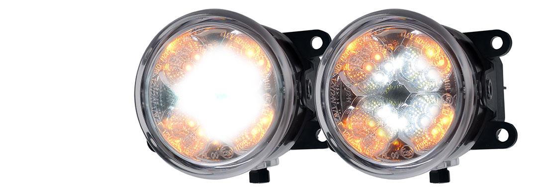 Lampy zespolone przednie - W212, W213